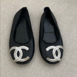 🦄 Authentic Chanel Quilted Ballet Flats